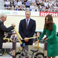The Duke Cambridge and The Duchess of Cambridge