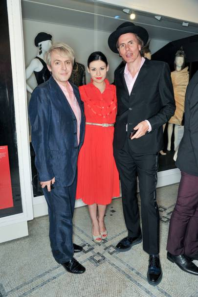 Nick Rhodes, Nefer Suvio and John Taylor