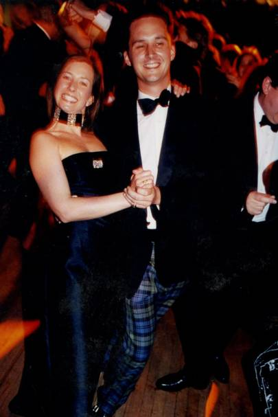 Lady Louise Burrell and The Duke of Argyll