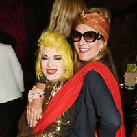 Pam Hogg and Tiggy MaConochie