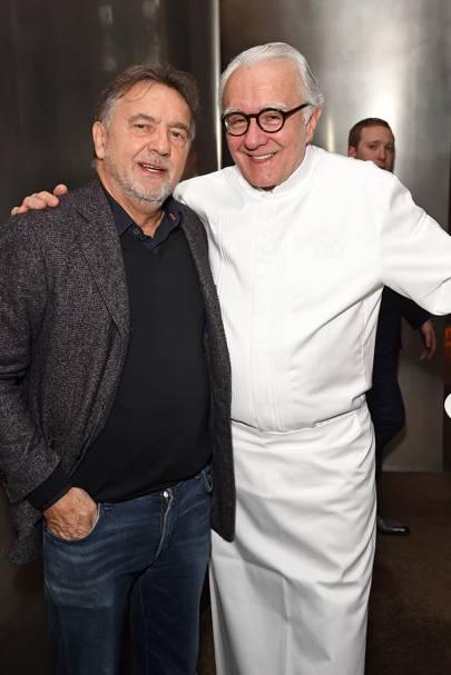 Raymond Blanc and Alain Ducasse