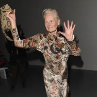 Vivienne Westwood at the Matty Bovan show