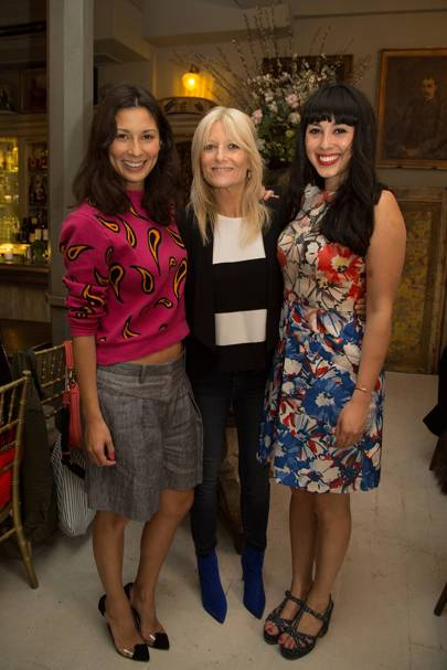 Melissa Hemsley, Gaby Roslin and Jasmine Hemsley