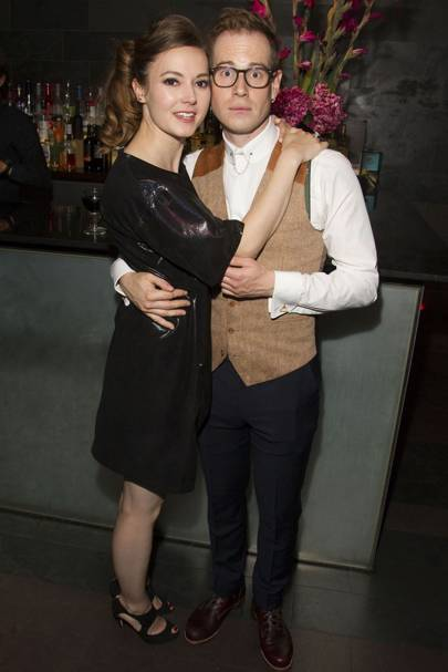 Lydia Wilson and Tom Robertson