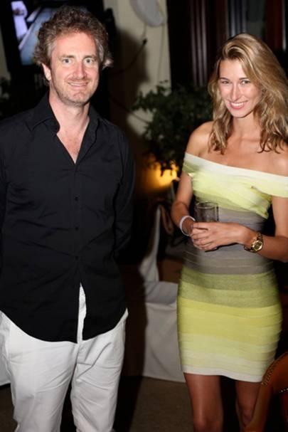 Fred Jousset and Lauren Remington-Platt