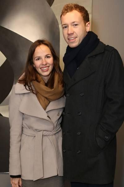 Rosie Ramsay and Ollie Payne