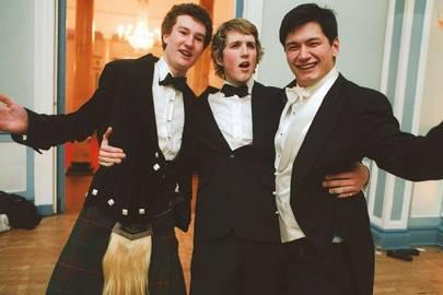 Edward Campbell-Preston, Harry Elgood and Alex Williams