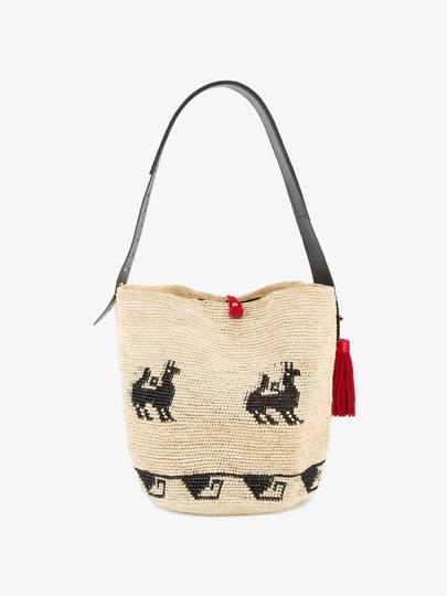 Ibo-Maraca straw bag