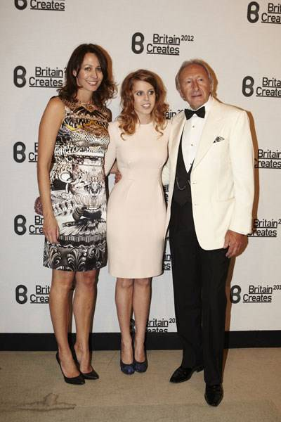 Caroline Rush, Princess Beatrice and Harold Tillman
