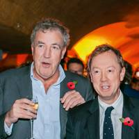 Jeremy Clarkson and Geordie Greig