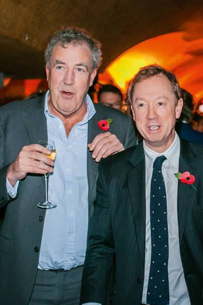 Jeremy Clarkson and Geordie Greig