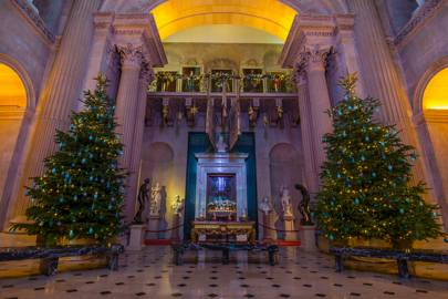 The Great Hall at Blenheim Palace, Oxfordshire