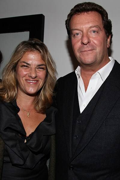 Tracey Emin and Mark Steinberg