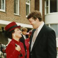 Lady Powell and Stephen Fry