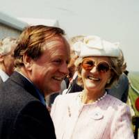 Brigadier Andrew Parker Bowles and Lady Tennant