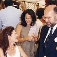 Mrs Urs Schwarzenbach, Mrs Martin Brown and Peter de Savary