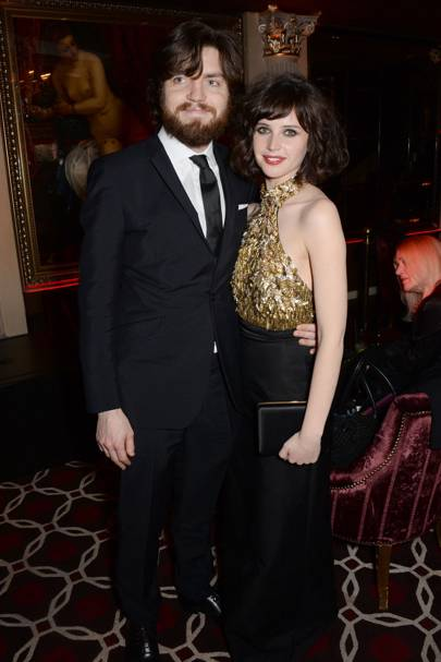 Tom Burke and Felicity Jones