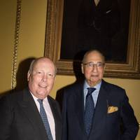 Lord Fellowes and Sir Desmond de Silva
