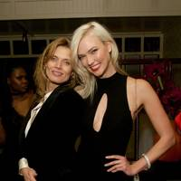 Malgosia Bela and Karlie Kloss