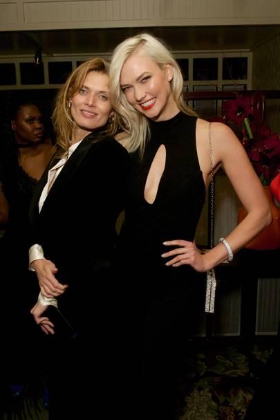 Malgosia Bela and Karlie Kloss