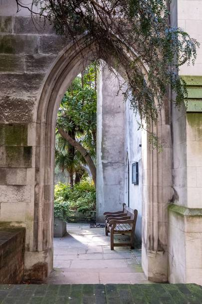 St Dunstan in the East, London Bridge