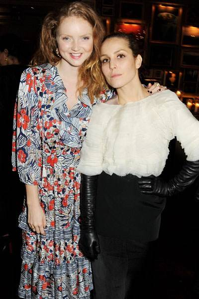 Lily Cole and Noomi Rapace