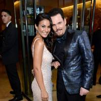 Emmanuelle Chriqui and Kevin Dillon