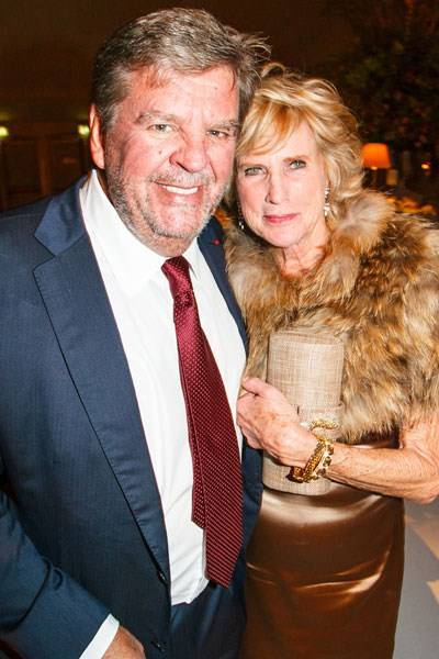 Johann Rupert and Ruth Fitzgibbons