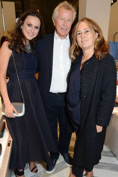 Nicole Bahbout, David Jenkins and Alexandra Shulman
