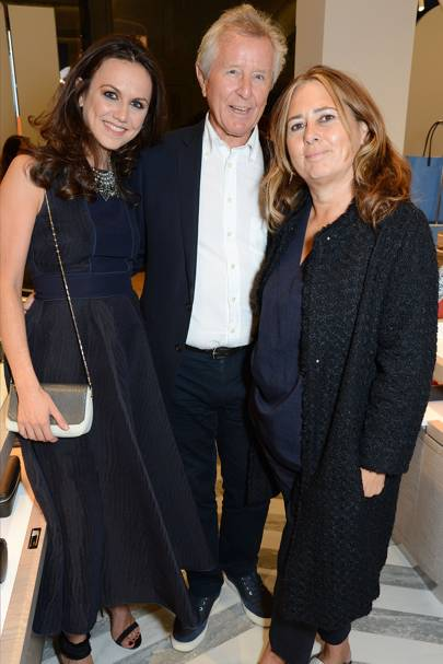 Nicole Bahbout, David Jenkins and Alexandra Shulman