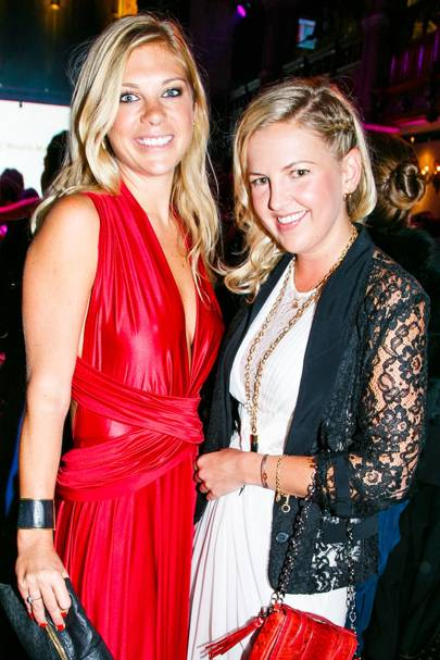 Chelsy Davy and Hanneli Rupert