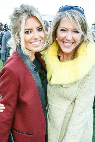 Mollie King and Viscountess Daventry