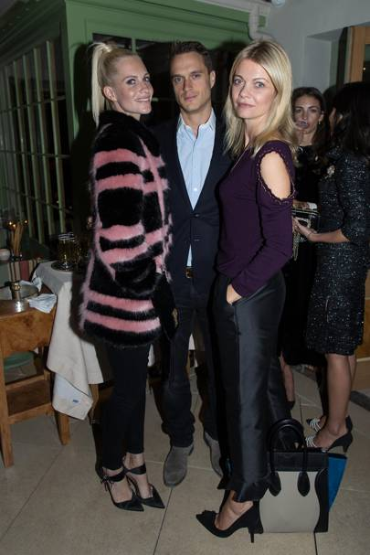 Poppy Delevingne, The Marquess of Douro and The Marchioness of Douro