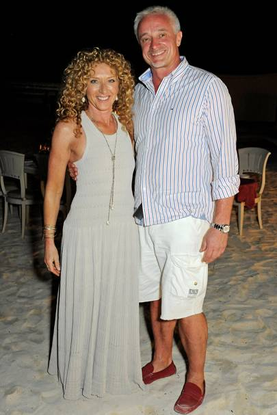 Kelly Hoppen and John Gardiner