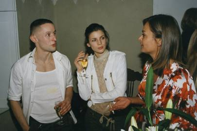 Josh van Gelder, Liberty Ross and Gabriella Palmano
