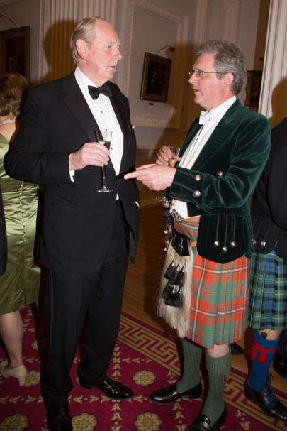 Sir Ian Lowson and the Earl of Kinnoull