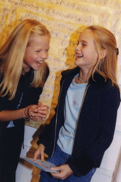 Gabriella Anstruther-Gough-Calthorpe and Cressida Bonas