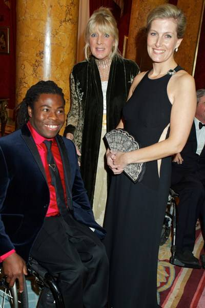 Ade Adepitan, the Countess of Westmorland and the Countess of Wessex