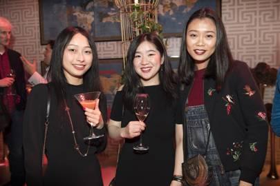 Qin Zian Lin, Renee Xiog, Lois Guo