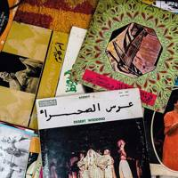 Uncannily apt vinyl discovered by Henri at a Marrakesh record stall