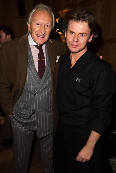 Harold Tillman and Christopher Kane