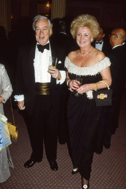 Sir Michael Sandberg and Lady Thomas