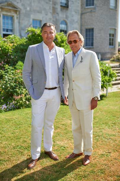 Laurent Feniou and the Duke of Richmond