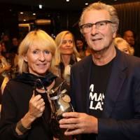 Pippa Blake and Gordon Roddick