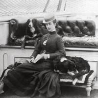 Queen Alexandra by an unknown photographer, circa 1908