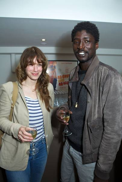 Jodhi May and Alassane Sy