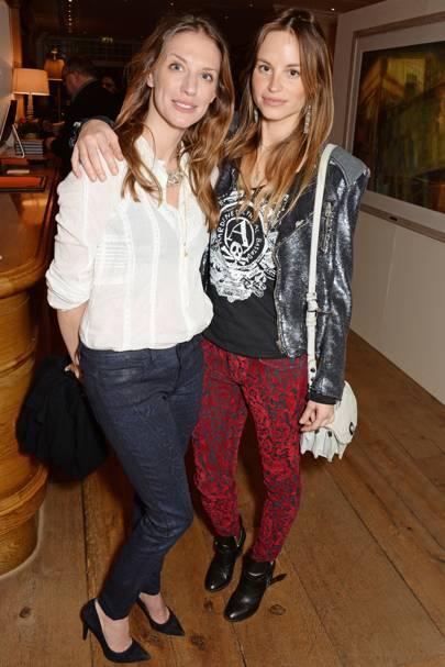 Katrine de Candole and Lizzie Phillips