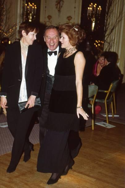 Caroline Charles, Roland Klein and Vanessa de Lisle