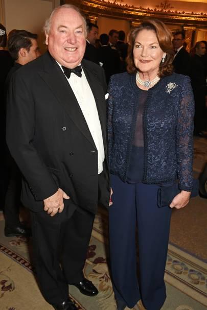 Anthony Oppenheimer and Antoinette Oppenheimer
