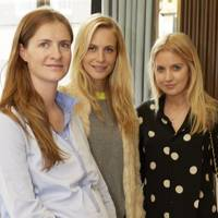 Chloe Delevingne, Poppy Delevingne and Marissa Montgomery